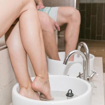 Kneippov šľapací kúpeľ